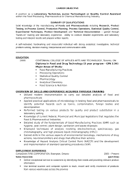 Sample Resume For Medical Laboratory Technician by Professional Lab Technician Resume Template