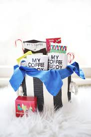 gift hers his hers coffee gift basket a beautiful mess