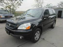 2005 honda pilot ex l on sale 2005 honda pilot ex l awd suv 3 rows leather mint in out
