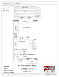 lighthouse floor plans 54 lighthouse w collingwood greg syrota team collingwood