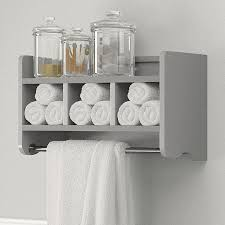 Bathroom Wall Cabinet With Towel Bar by Small Bathroom Shelf Deluxe White Ceramic Vanity Cabinet Plenty Of