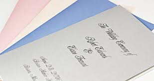 print your own wedding programs metallics discover beauty in papers envelopes lci paper