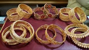silver gold plated bracelet images Silver gold plated bangles set designs latest jewelry jpg