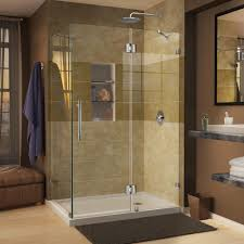 Winston Shower Door Dreamline Quatra 46 5 16 In X 32 1 4 In X 72 In Frameless