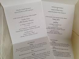 tri fold wedding invitations tri fold wedding invitations uk popular wedding invitation 2017