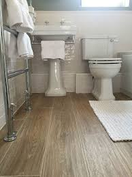 Wood Floor Bathroom Ideas View In Gallery Floor Wood Look Tiles Arianajpg Image Of
