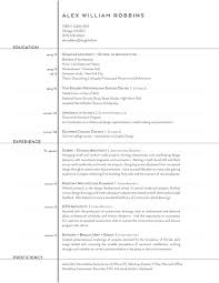 Graphic Design Job Description Resume by The Top Architecture Résumé Cv Designs Archdaily
