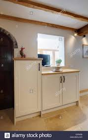 Traditional Style Kitchens A Traditional Style Kitchen Inside A Farmhouse In The Uk Stock