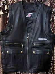 leather vest leather vest style mlv863 for sale
