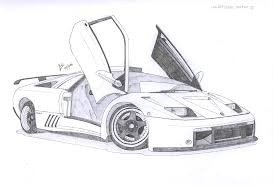 lamborghini car drawing lamborghini diablo gt by under18carbon on deviantart cars