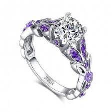 amethyst engagement rings amethyst engagement rings womens engagement rings jeulia jewelry