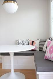 diy upholstered banquette seat part one banquette seating
