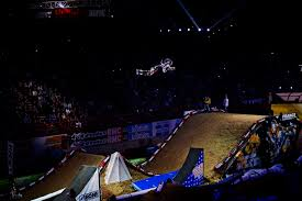 motocross matchup pro thomas pagès and taka higashino take flight at bercy supercross