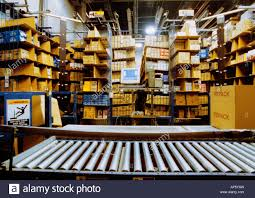 Warehouse Interior The Bronx Household Goods Warehouse Interior Conveyor Belt New