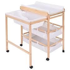 Bath Change Table Qoo10 Costzon Costzon Baby Changing Table Nursery