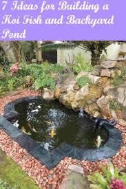Small Backyard Fish Pond Ideas Build A Koi Fish Pond Koi Ponds Ponds And Koi