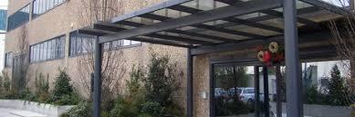 tettoia in ferro battuto realizzazione tettoie e pensiline metalliche roma la fer pi