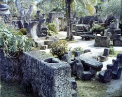florida memory view inside the coral castle attraction in