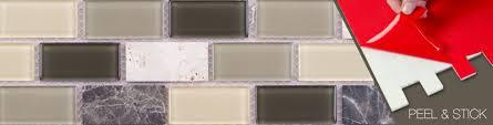 Stick On Tiles For Backsplash by Peel U0026 Stick Backsplash Tiles Mineral Tiles