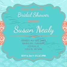 custom bridal shower invitations custom bridal shower invitations 5751 and peacock bridal shower