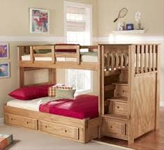 24 best bunk beds images on pinterest 3 4 beds lofted beds and