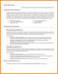 Sample Resume Of Executive Assistant by 6 Administrative Assistant Sample Resume Technician Resume