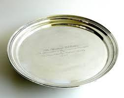 engraved silver platter rosenthal bjørn wiinblad plate large wall decor studio line