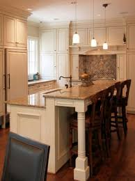 Kitchen Island Seating Ideas Best 25 Raised Kitchen Island Ideas On Pinterest Kitchen Island