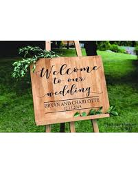 wedding signs diy deals on wedding decals welcome to our wedding sign decal wedding