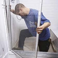 How To Fix A Shower Door Replace Shower Door Frame Pictures Inspiration Bathroom
