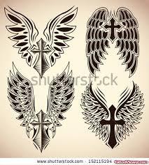 winged cross tattoos designs viewer com