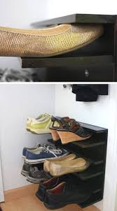 Storage Shelves For Small Spaces - 22 diy shoe storage ideas for small spaces craftriver