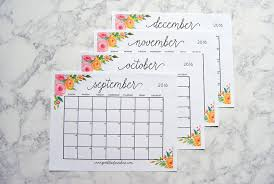 printable calendar 2017 for planner printable 2017 monthly calendar and weekly planner