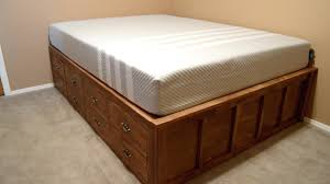 bed frames with drawers single bed frame with drawers nz king bed
