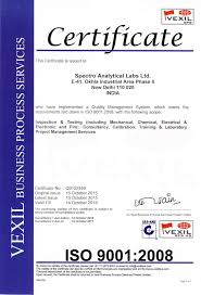nabl ohsas bis approved labs accreditations u0026 certifications