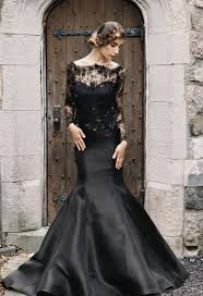 black lace wedding dresses 20 beautiful and bold black wedding dresses chic vintage brides