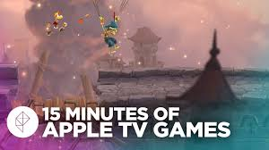15 minutes of apple tv games youtube