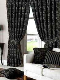 Black And Gray Curtains Black And Silver Curtains Next Www Elderbranch