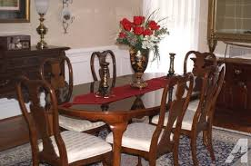 solid cherry dining room table