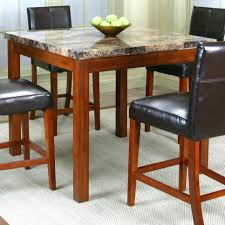 Faux Marble Top Dining Table Black Faux Marble Top Dining Table Set Reviews 23659 Gallery
