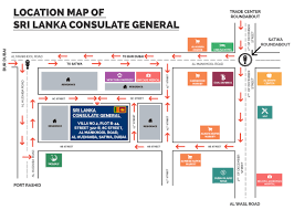 Embassy Floor Plan by Location Map Consulate General Of Sri Lanka Dubai United Arab