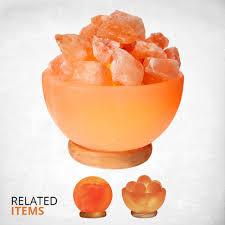 himalayan glow salt l himalayan glow natural bowl salt l night light