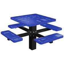 Hammer Wooden Picnic Tables And Outdoor Serving Tables Discover by Picnic Tables Steel Globalindustrial Com