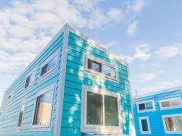 tiny house town blue oasis beach house