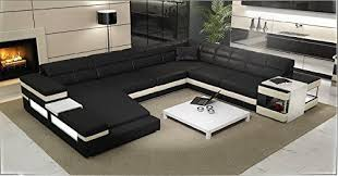 Sectional Sofa Black Large Modern Sectional 2950 Modern Sectional Sofa Black White