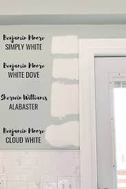 white dove or simply white for kitchen cabinets the best white paint colors micheala diane designs