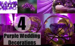 purple wedding decorations four purple wedding decorations ideas for purple wedding