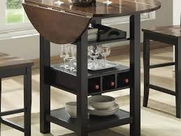 cabinet round black kitchen table kitchen unique black wooden