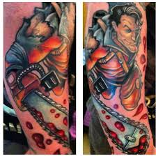 the 20 grooviest bruce campbell tattoos dread central