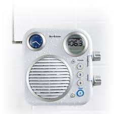 Bathroom Radio Clock For Those Who Love Singing In The Shower Here Is A Shower Radio